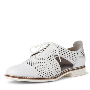 29303-24-FLAMENCO 23205-24-LACETS:Blanc