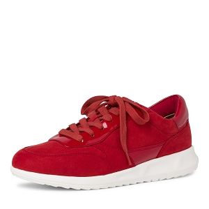 SHOE CREAM 23625-24-LACETS:Rouge
