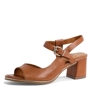 23702-25-LACETS 28028-24-SANDALES:Marron