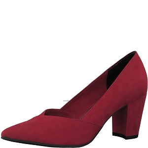 25306-25-BOTTE 22438-25-ESCARPIN:Rouge