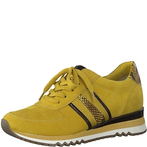 25120-35-BOTTE 23783-35-LACETS:Jaune
