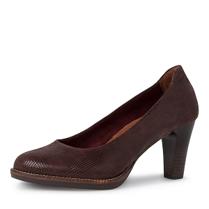 28253-24-SANDALES 22425-25-ESCARPIN:Marron