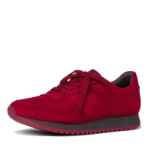 25347-25-BOTTE 23606-25-LACETS:Rouge