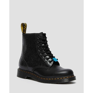 DR MARTENS 1460 KEITH HARING<br>Noir