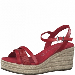 MSAB9855NEW 28003-26-SANDALES:Rouge