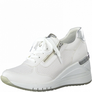 ARCADE SNEAKER 23787-26-LACETS:Blanc