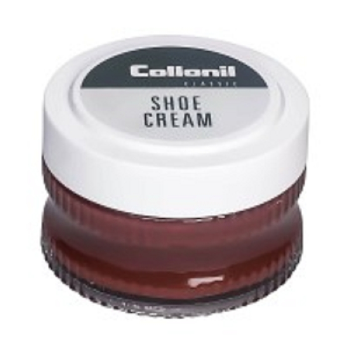 Collonil produits beaute du cuir shoe cream marron