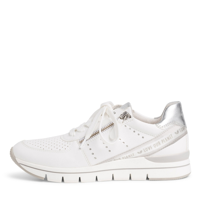 Marco tozzi chaussures a lacet 23723 24 ch. a lacets blanc4565701_2