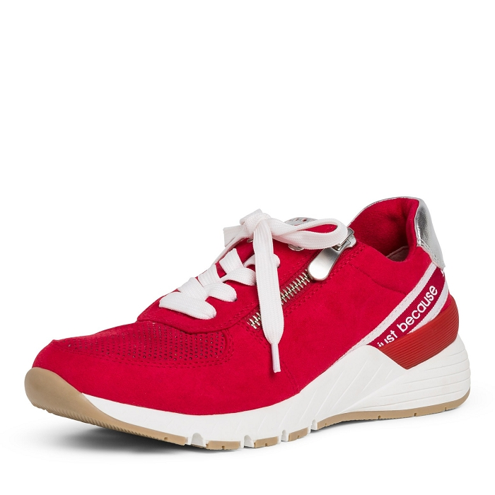 Marco tozzi ts sport 23739 34 ch. a lacets rouge