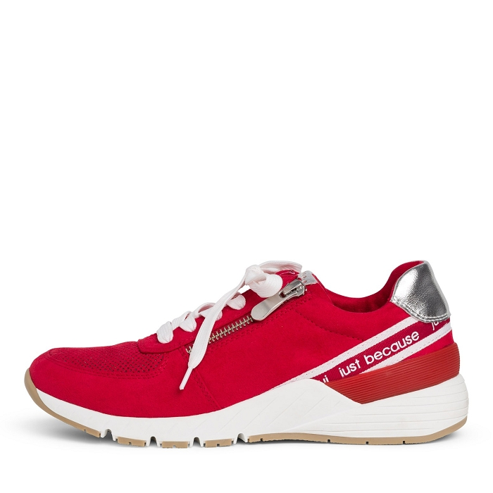 Marco tozzi ts sport 23739 34 ch. a lacets rouge4565901_2