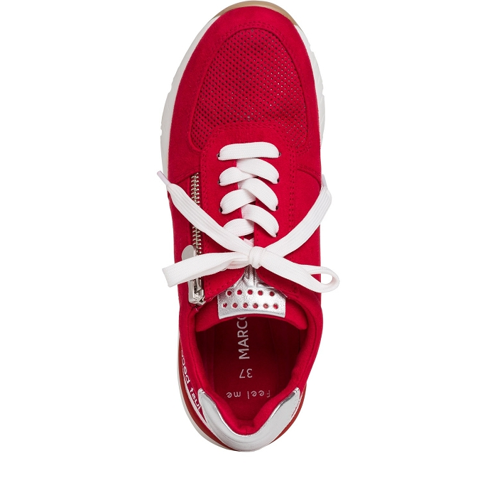 Marco tozzi ts sport 23739 34 ch. a lacets rouge4565901_5