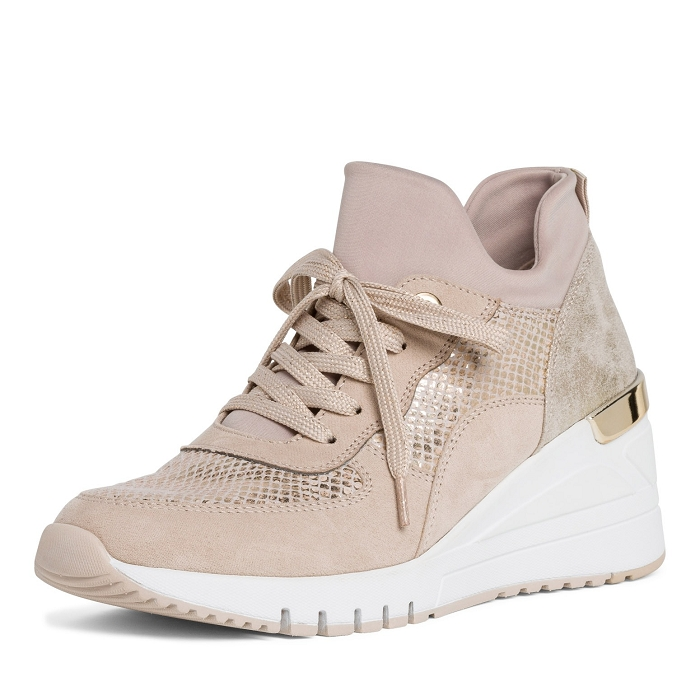 Marco tozzi chaussures a lacet 23744 24 ch. a lacets rose