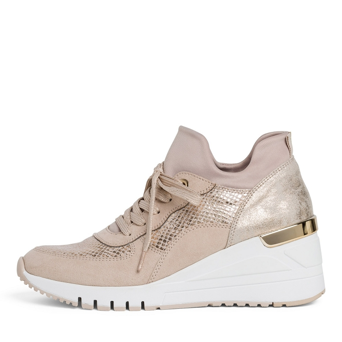 Marco tozzi chaussures a lacet 23744 24 ch. a lacets rose4566101_2