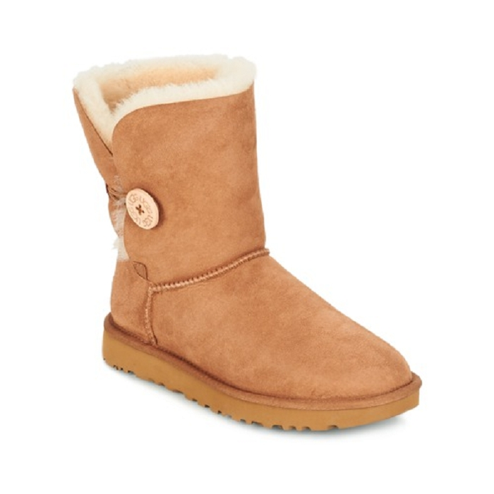 Ugg boots bailey button ii marron