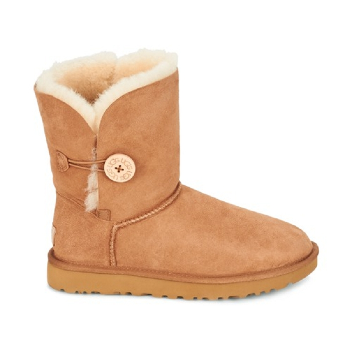 Ugg boots bailey button ii marron4652401_2