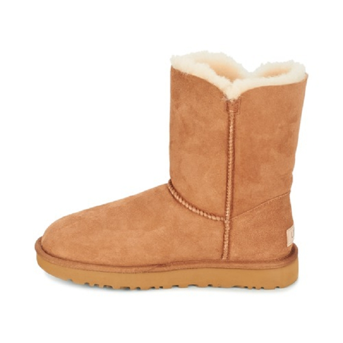 Ugg boots bailey button ii marron4652401_4