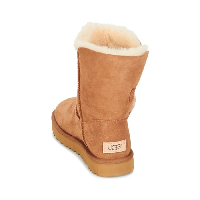 Ugg boots bailey button ii marron4652401_5